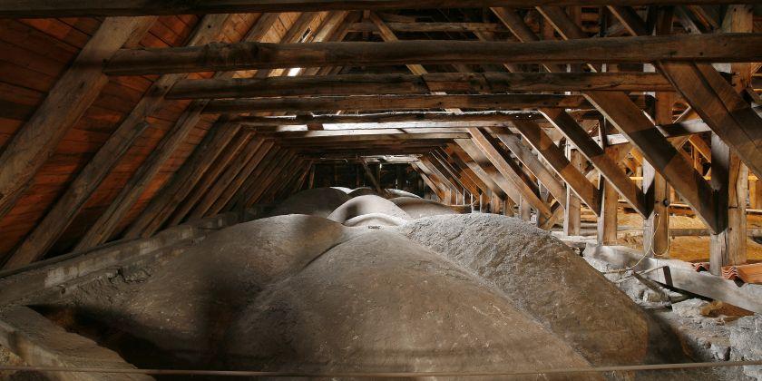 Dachgewölbe der St.-Andreas-Kirche (Foto: Foto Pescht)