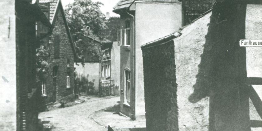 Hinter der Mauer, LK, um 1935 (Bildnachweis: Stadtarchiv Lübbecke)