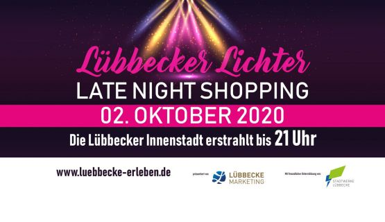 Lübbecker Lichter – Late Night Shopping