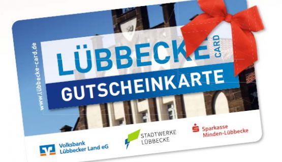 LÜBBECKE CARD - ein tolles Geschenk!