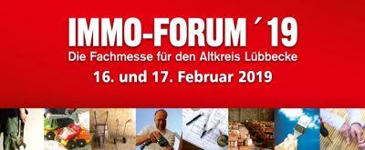 IMMO-FORUM ´19, 16. und 17. Februar 2019