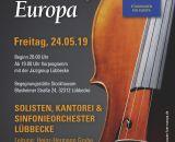 """""""Konzert für Europa"""" (Plakat)"""