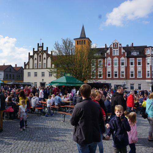 Lübbecke tischt auf - Street Food auf dem Marktplatz (Foto: Silke Birkemeyer)