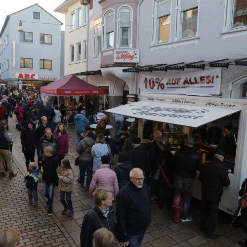 Lübbecker Wurstmarkt, 23. - 25. Oktober 2020